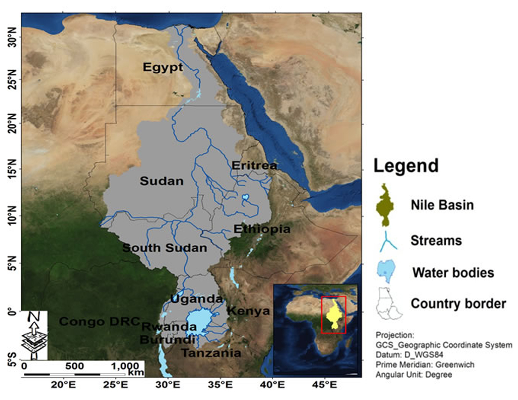 Nile: length, water regime, the nature of the flow and the economic importance of the river 61