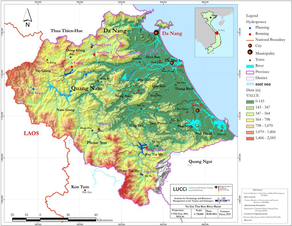 Natural Environment - BASIN INFO – Web based River Basin